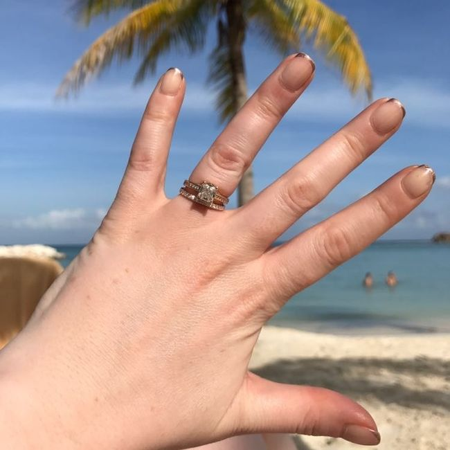 Show off your rings!