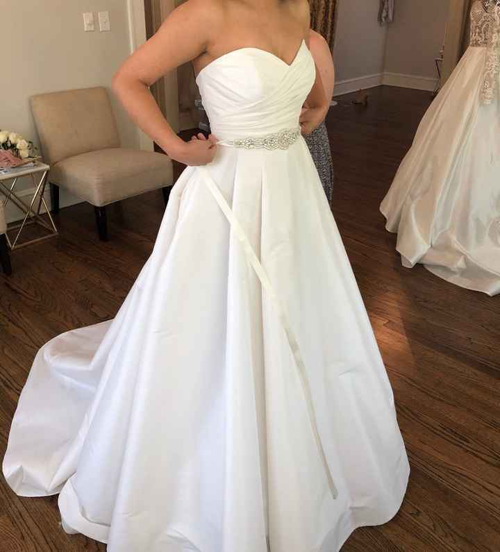 A-Line Gown Angle