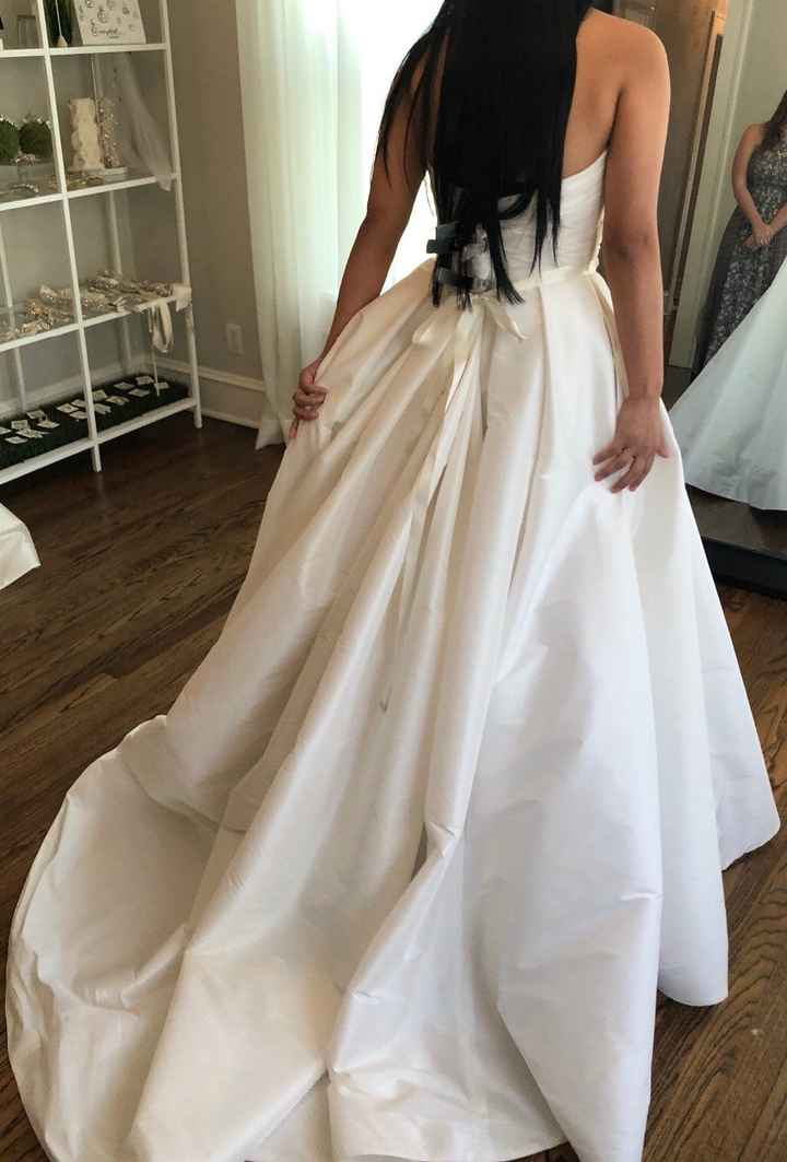 A-Line Gown Back