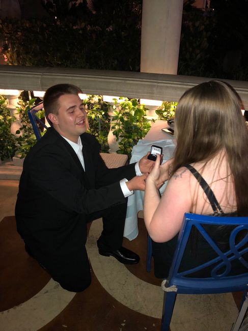 Was your proposal caught on camera? Share your proposal pic! 3