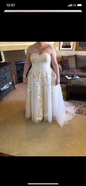 i found my dress today 3