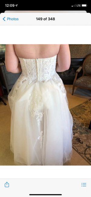 i found my dress today 2