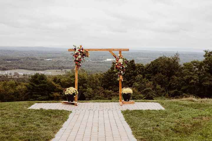The Arch that my husband built!