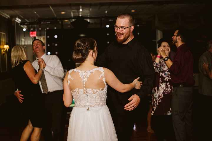 Just us dancing the night away!