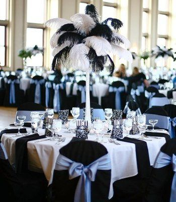 Feather Centerpieces Weddings Do It Yourself Wedding Forums