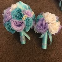 "Bouquet Sizes? Is an 8"" Round Bouquet too small for brides bouquet? - 1"