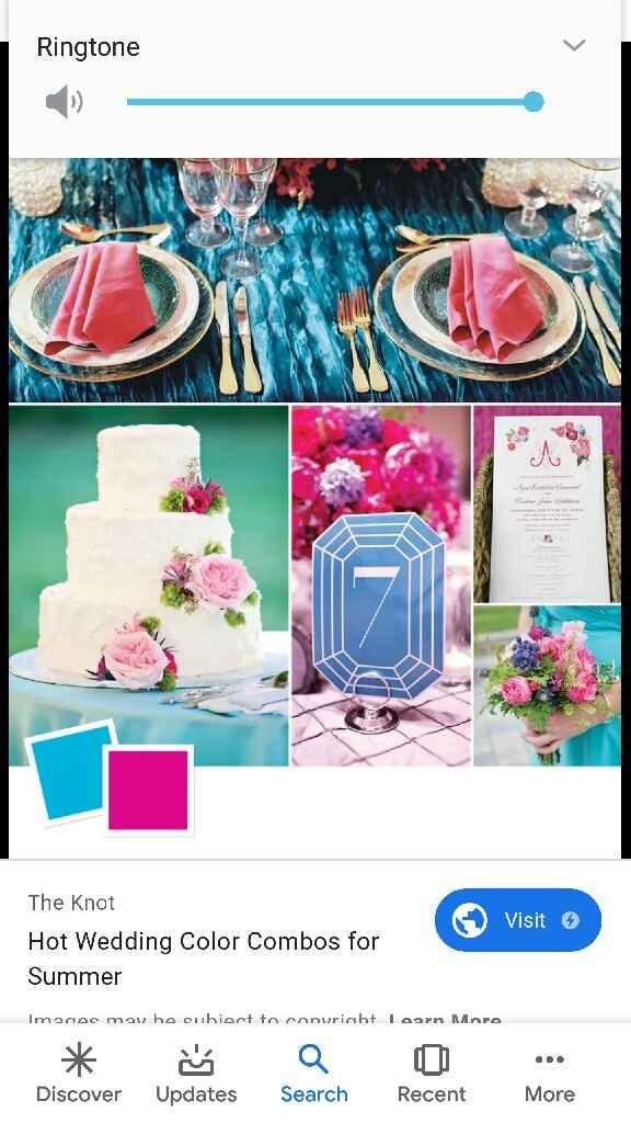 Help!! What are good colors for summer wedding? - 1