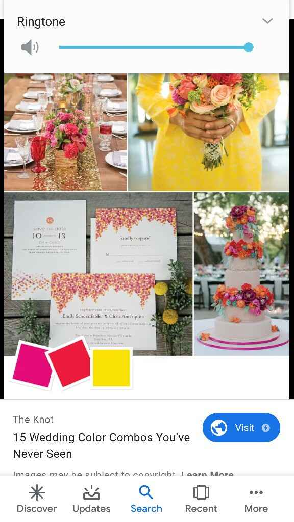 Help!! What are good colors for summer wedding? - 2