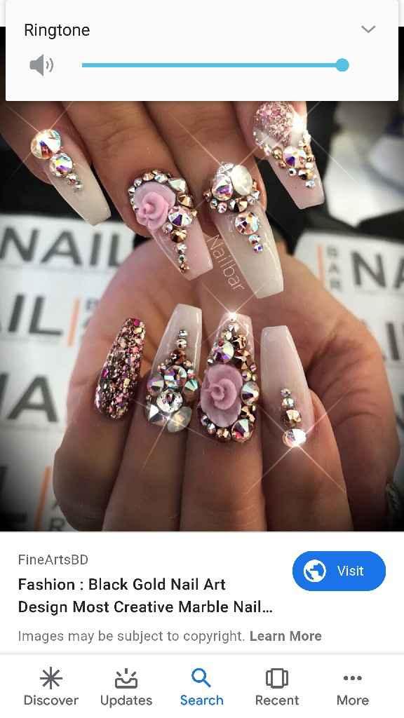 Wedding nails inspo - 1