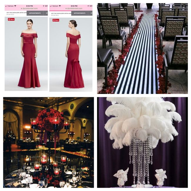 Incorporating the Color Black Into Your Wedding 4