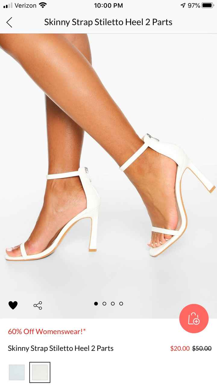 Bridal jewelry and shoe (small or no heel)  suggestions please!! - 1