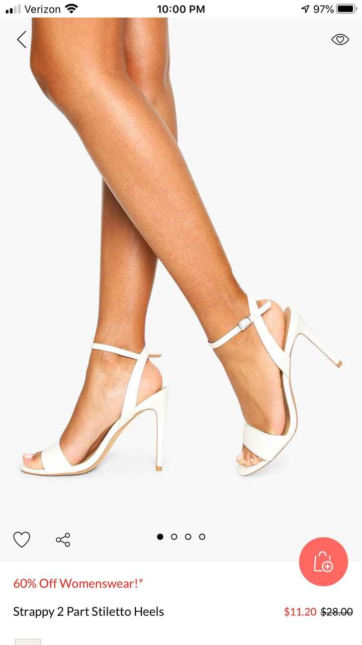 Bridal jewelry and shoe (small or no heel)  suggestions please!! - 2