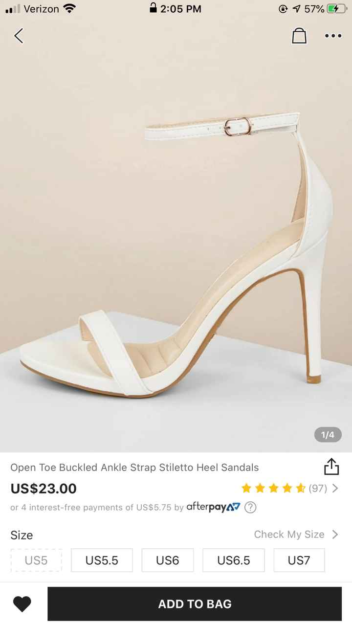 Bridal jewelry and shoe (small or no heel)  suggestions please!! - 3