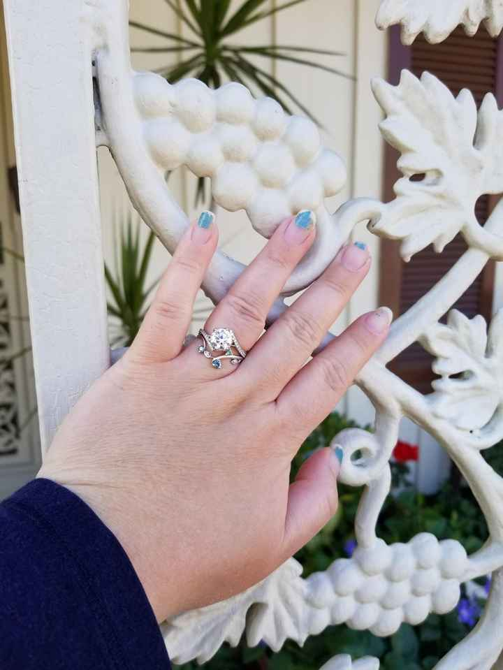 Talking about engagement rings and wedding bands... Help! - 1