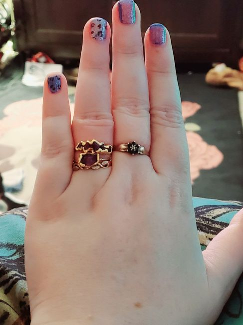 Can i start a new ring thread! Let's see that bling! 5