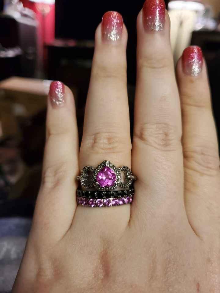 Sapphires as wedding rings! 1