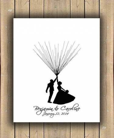 Guestbook alternatives for intimate weddings 2