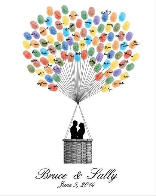 Guestbook alternatives for intimate weddings 3