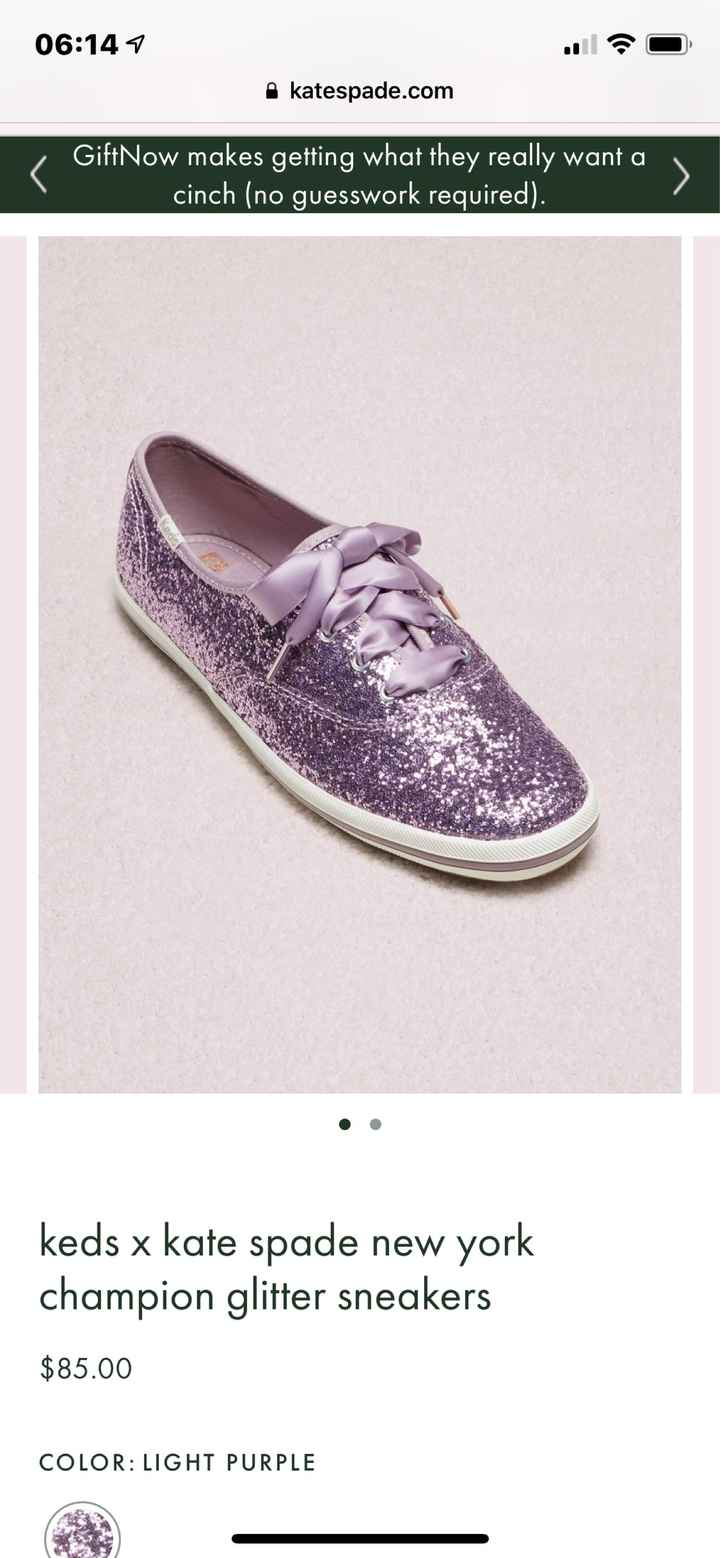 Advice on shoes :) Wearing Kate Spade Keds - 1