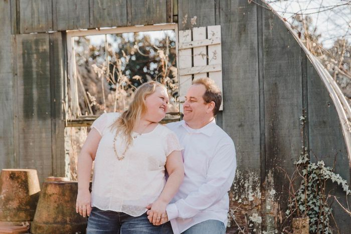 Show off your weird engagement pic 15