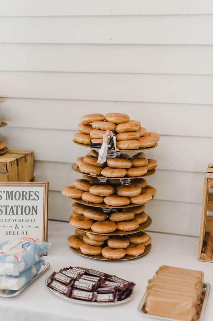 Dollar Tree Serving trays for my wedding! 3