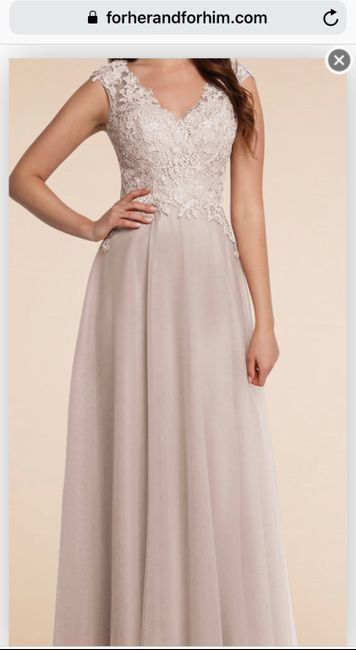 Bridesmaid's Dresses Recommendations 1