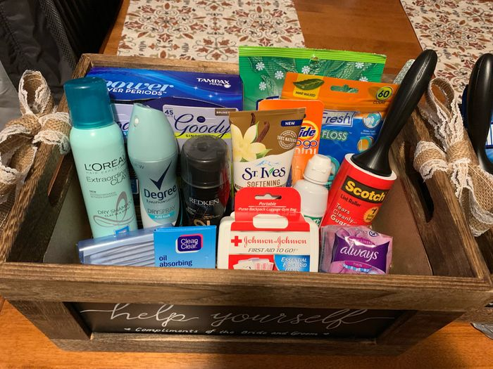 Bathroom basket! 3