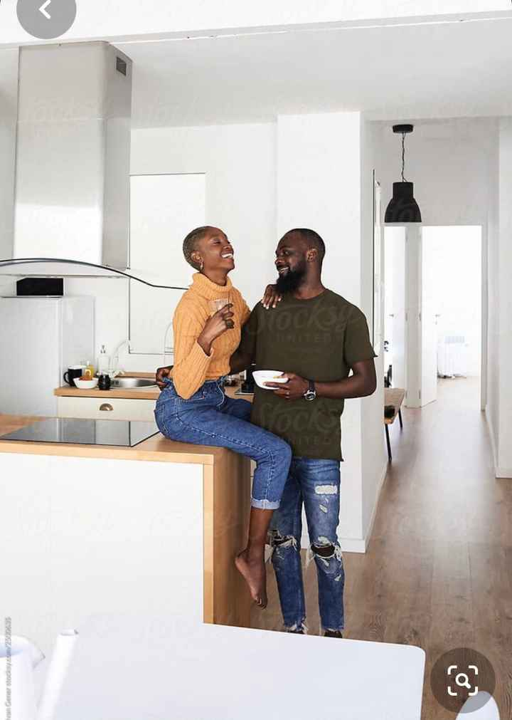 """""""At home"""" engagement session - 1"""