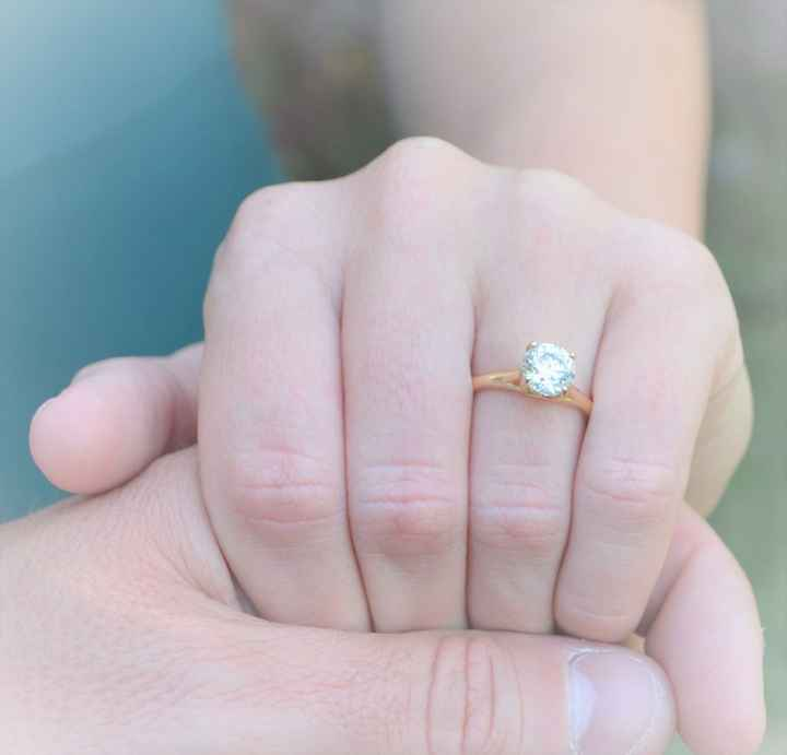 """Do you ever take your engagement ring off? What are your """"ring rules""""? 💍 - 1"""