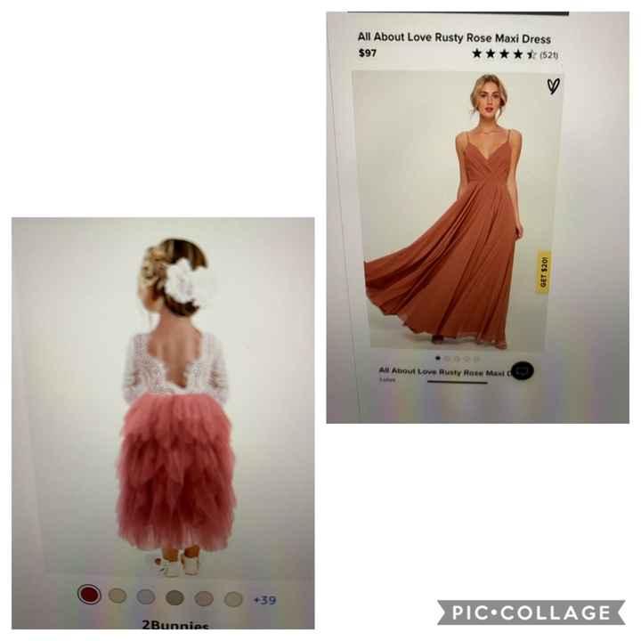 Flower girl dresses - 1