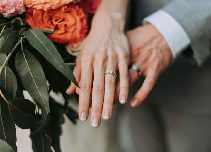 Is Hand Sanitizer Bad for Your Engagement Ring? Big yikes. - 1