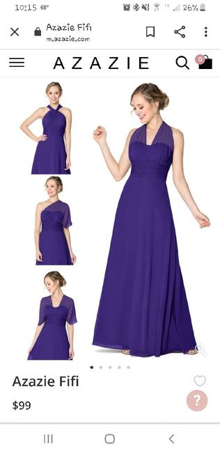 Identical Bridesmaids Dresses - Do or Ditch? 1