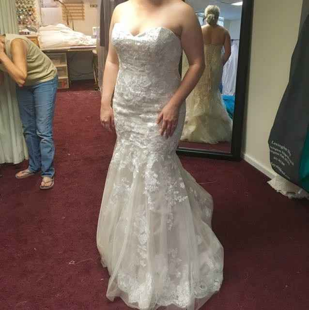 First fitting!