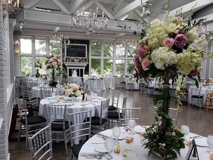Wedding decor colors vs wedding party colors - 3
