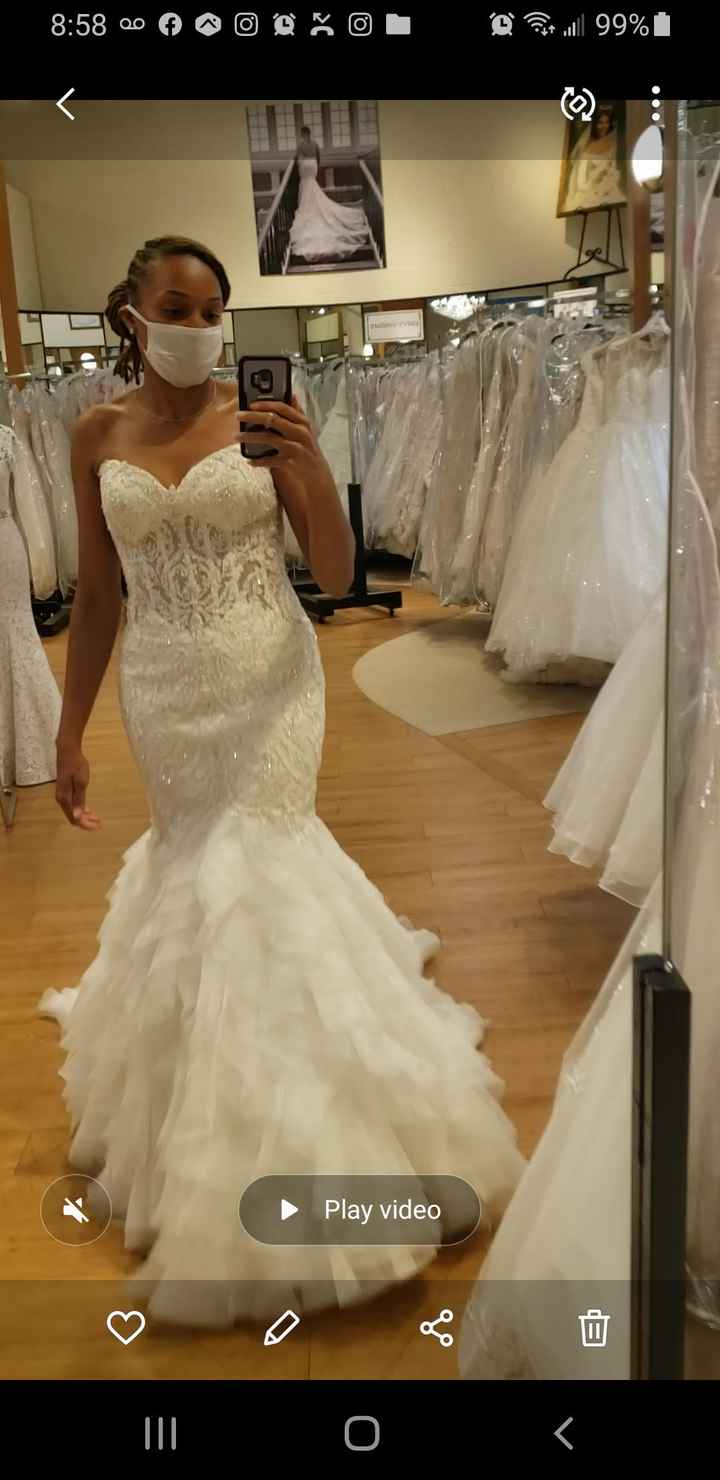Strapless gown alteration help - 2