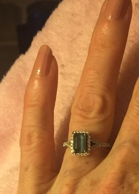 Who else has gemstones in their ring(s)?  Let's see them! 17