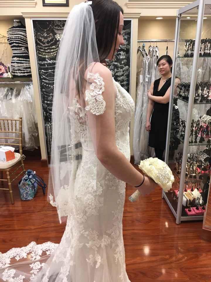 Guys! i said yes to my dress!! - 1