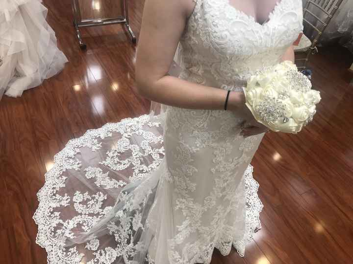 Guys! i said yes to my dress!! - 2