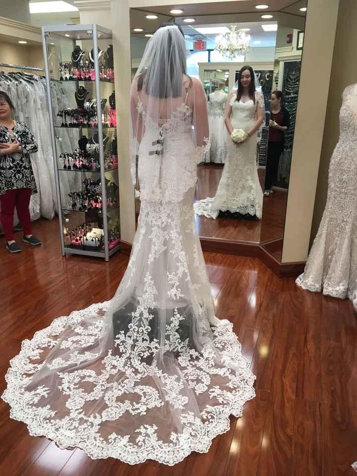 Guys! i said yes to my dress!! - 3