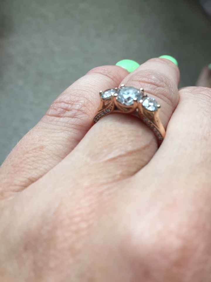 Ring Shaming because it costs alot? Opposite spectrum - 1