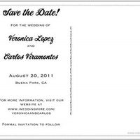 Save the Date Help!
