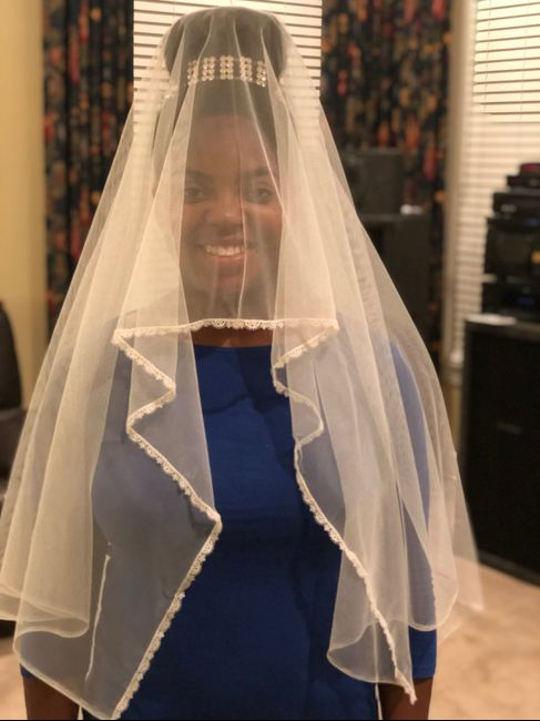 i Made My Own Veil!!! 2