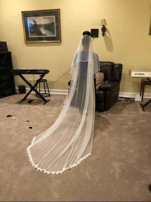 i Made My Own Veil!!! - 4