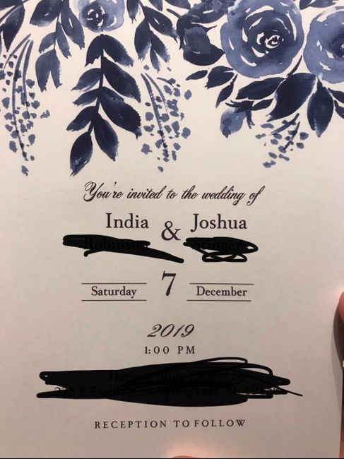 Feedback Wanted: Look at my invites i plan to order before the end of November! 7