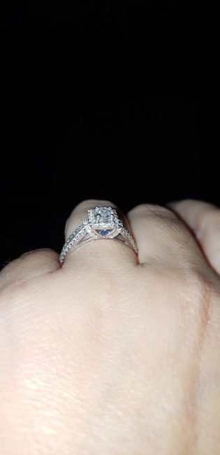 Who else has gemstones in their ring(s)?  Let's see them! 15