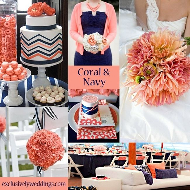 What Colors Go With Navy Blue Weddings Etiquette And Advice