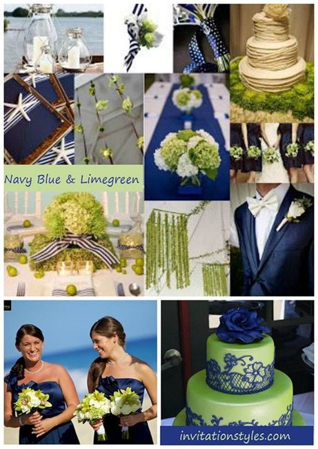 What Colors Go With Navy Blue Weddings Etiquette And