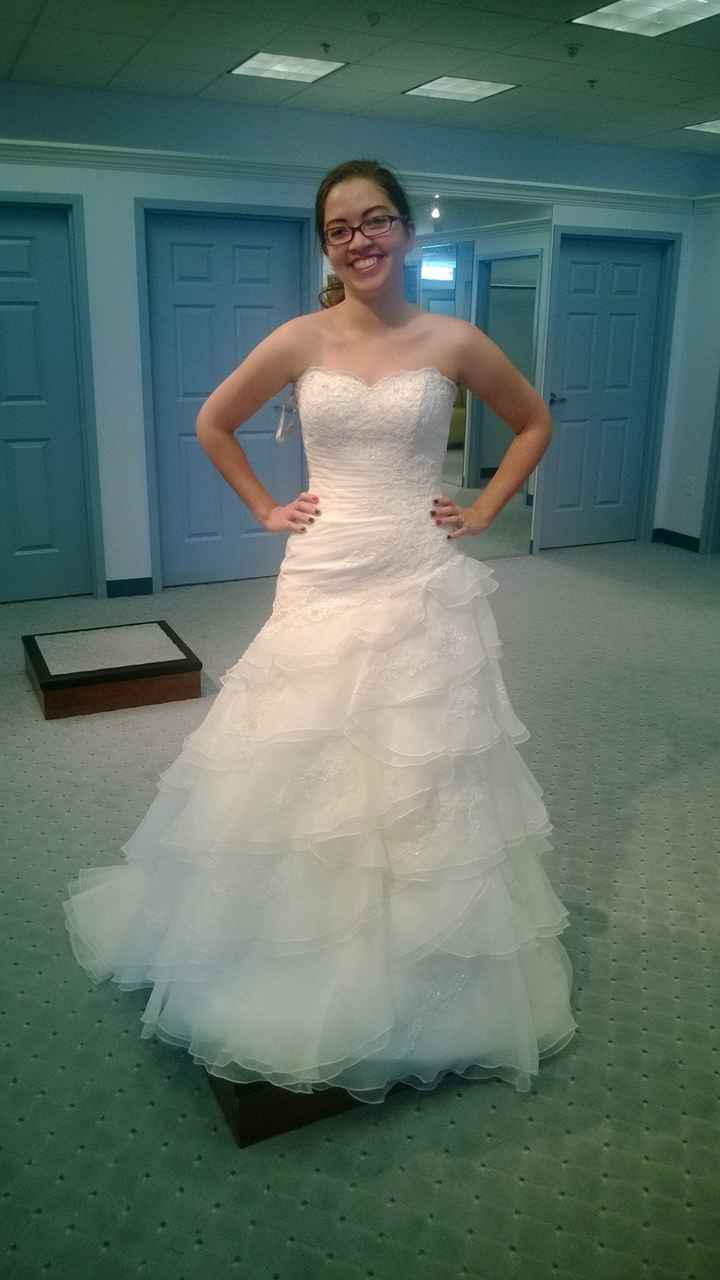 Dresses that didn't make the cut..