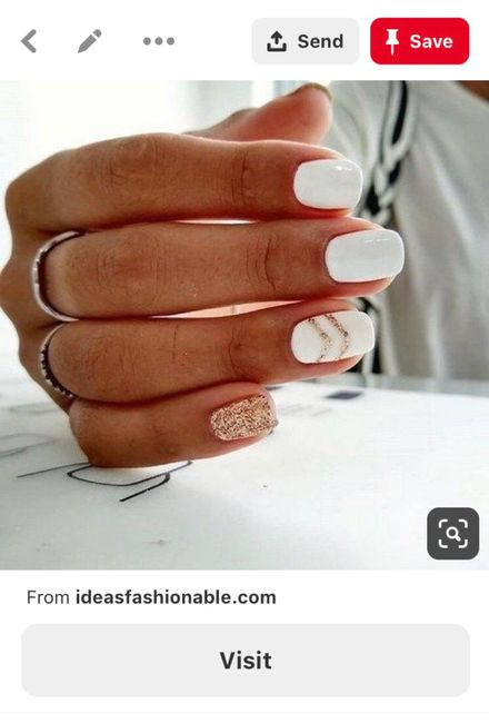 Let me see your wedding nails! 5