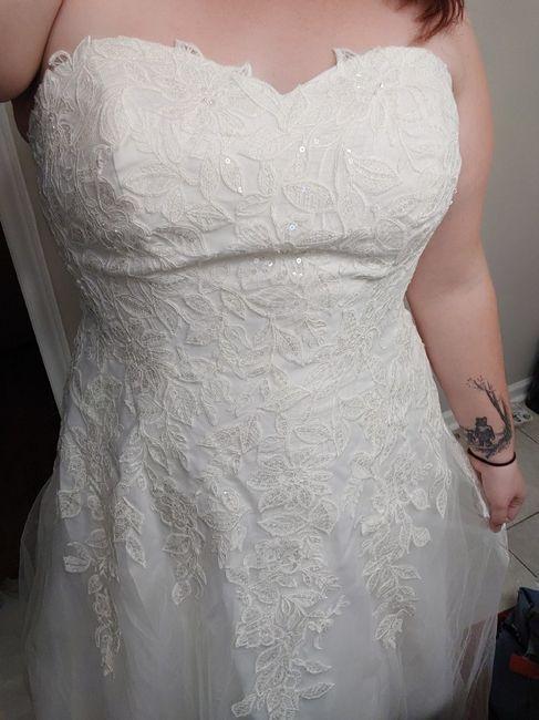 Budget Wedding Dress 1